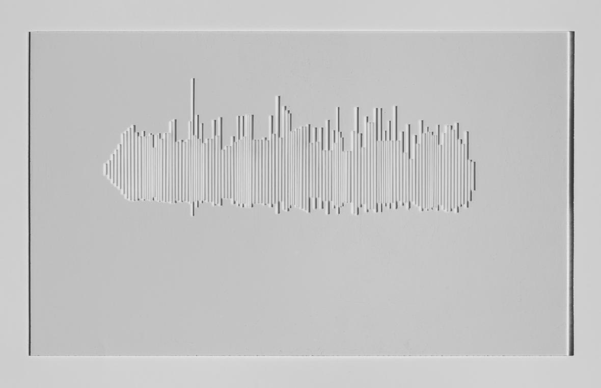 Pure white line / Records of audio landscapes